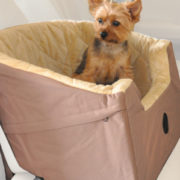 K and H bucket booster seat with Yorkie2