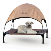 K and H Pet Cot bed and canopy medium
