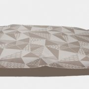 Be One Breed Cloud Pillow Grey Mosaic