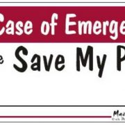 Magnet In case of Emergency please save my pet2