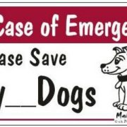 Magnets In case of emergency please save my Dogs2